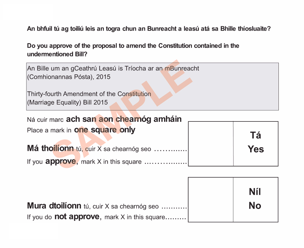 ballot marriage existing1