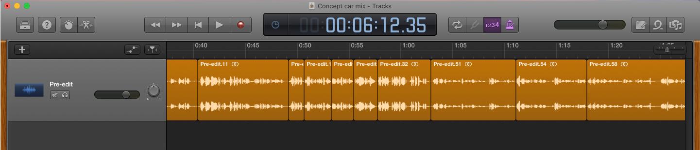 Garageband edit v2